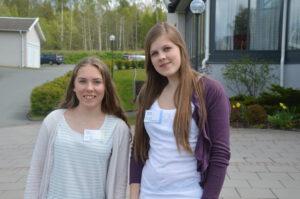 16 Sofia Larsson och Therese Skruf