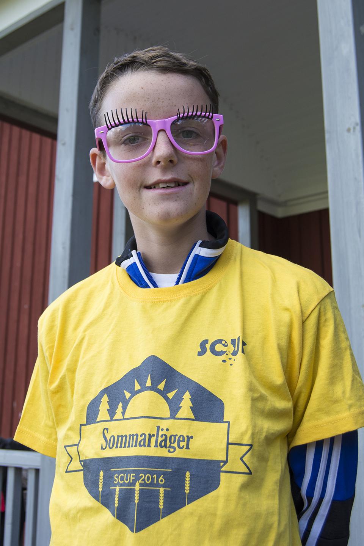 Jesper, 13 år.