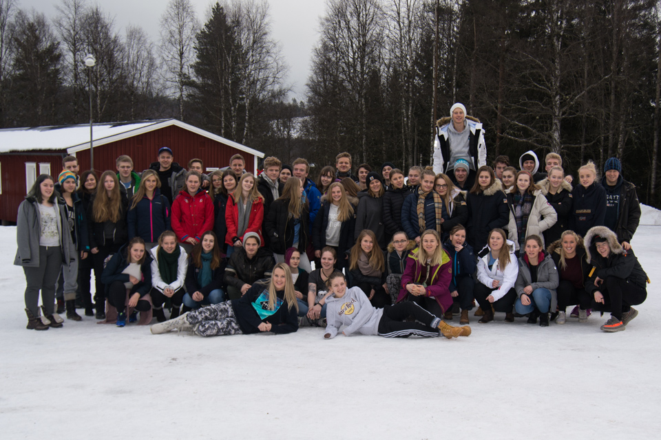 Deltagare på vinterlägret 2017