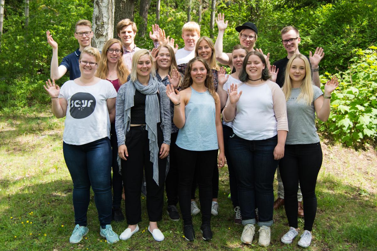 Gruppbild förbundsårsmötet 2017