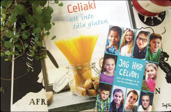 celiakiböcker från Svenska Celiakiförbundet